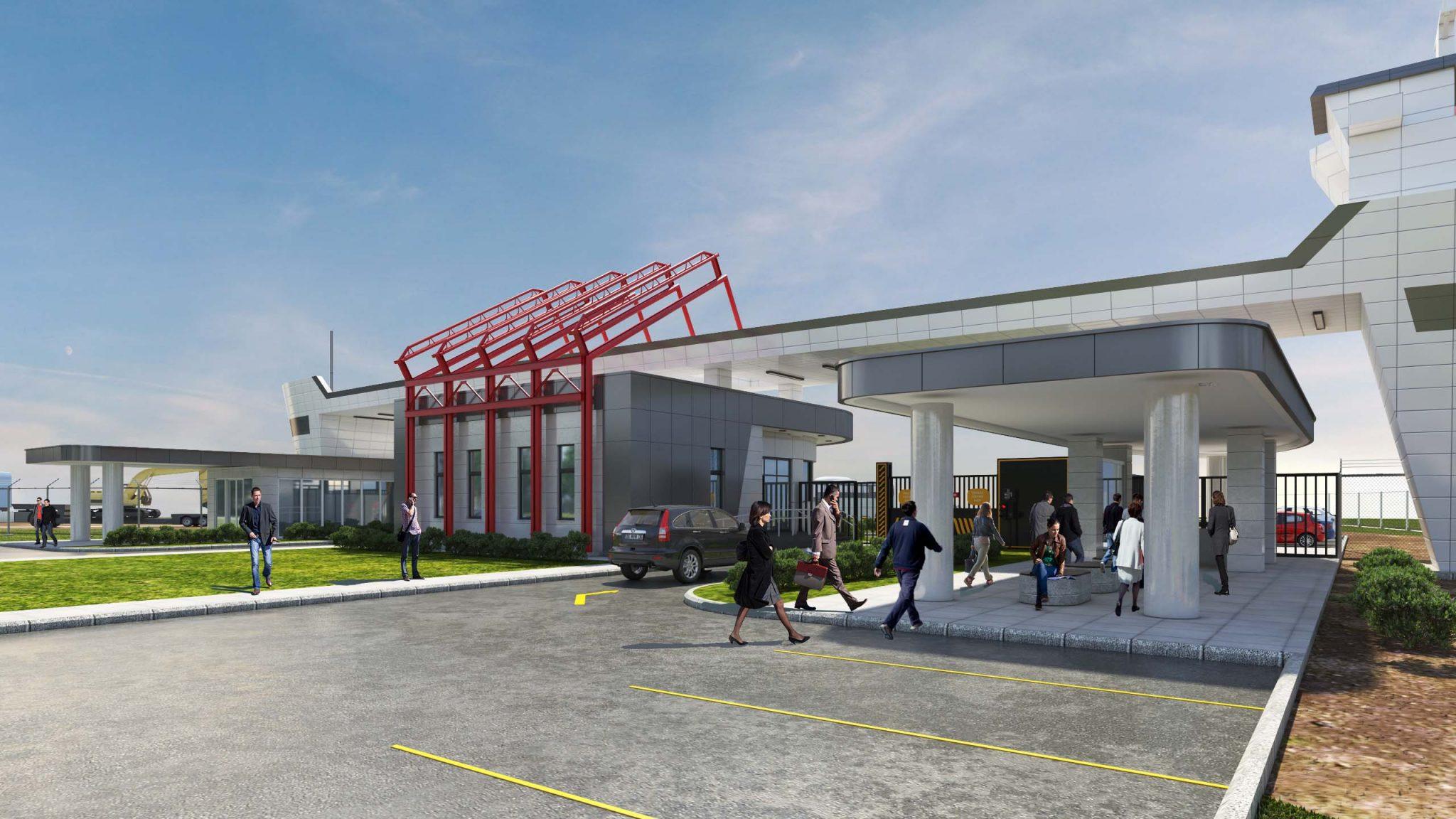 GRC-FİBERTON OVO CONSTRUCTION - BOTAŞ NİZAMİYE KAPISI GRC PREKAST CEPHE KAPLAMA-3