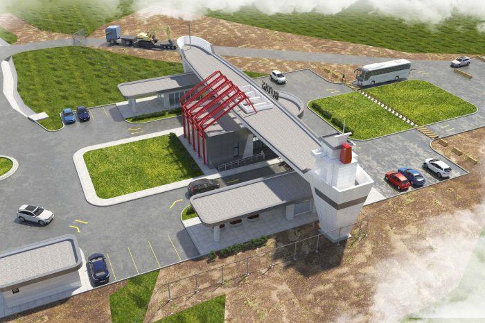 GRC-FİBERTON OVO CONSTRUCTION - BOTAŞ NİZAMİYE KAPISI GRC PREKAST CEPHE KAPLAMA-1