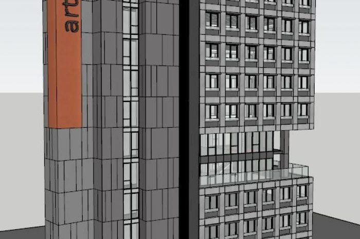 GRC-FİBERTON ARTUR DIS TICARET - ARTUR TOWER GRC PREKAST CEPHE KAPLAMA-1